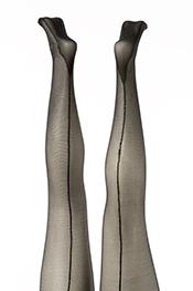 Nieuw! panty met naad (42 t/m 52)